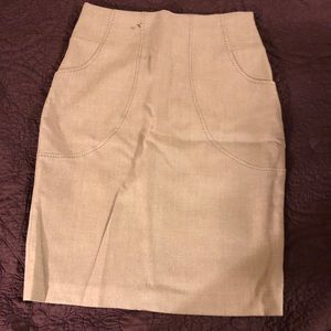 Worthington Gray skirt w/ Pockets size 12P
